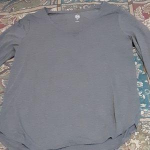 Gray long sleeve/Gray short sleeve Mudd
